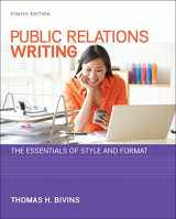 9780073526232-0073526231-Public Relations Writing: The Essentials of Style and Format