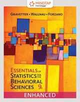 9780357095850-0357095855-Bundle: Essentials of Statistics for The Behavioral Sciences, Loose-Leaf Version, 9th + MindTap Psychology, 1 term (6 months) Printed Access Card, Enhanced