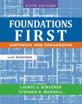 9781457633454-1457633450-Foundations First with Readings: Sentences and Paragraphs