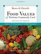 9780781781343-0781781345-Bowes & Church's Food Values of Portions Commonly Used