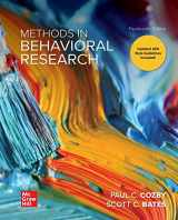 9781260205589-1260205584-Methods in Behavioral Research