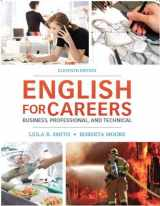 9780132619301-013261930X-English for Careers: Business, Professional and Technical