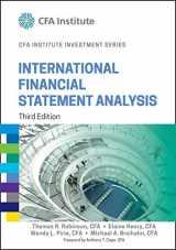9781118999479-1118999479-International Financial Statement Analysis (CFA Institute Investment Series)