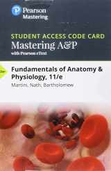 9780134478692-013447869X-Mastering A&P with Pearson eText -- Standalone Access Card -- for Fundamentals of Anatomy & Physiology (11th Edition)