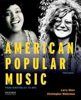 9780190632991-0190632992-American Popular Music: From Minstrelsy to MP3