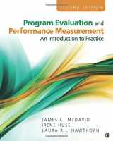 9781412978316-1412978319-Program Evaluation and Performance Measurement: An Introduction to Practice