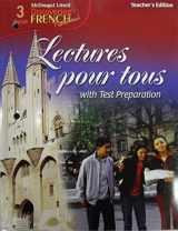 9780618661206-0618661204-Discovering French Nouveau: Lectures pour tous Teacher's Edition Level 3