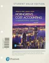 9780134642468-0134642465-Horngren's Cost Accounting, Student Value Edition Plus MyLab Accounting with Pearson eText -- Access Card Package