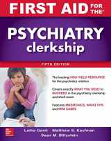 9781260143393-1260143392-First Aid for the Psychiatry Clerkship, Fifth Edition