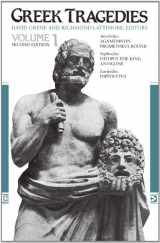 9780226307909-0226307905-Greek Tragedies, Volume 1