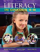 9781934432839-1934432830-Literacy in Grades 4-8: Best Practices for a Comprehensive Program