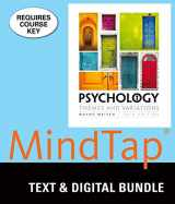 9781337127479-1337127477-Bundle: Psychology: Themes & Variations, Loose-leaf Version, 10th + MindTap Psychology, 1 term (6 months) Printed Access Card