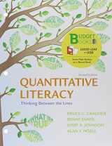 9781464125164-1464125163-Loose-leaf Version for Quantitative Literacy: Thinking Between the Lines