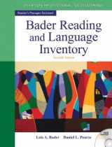 9780132943680-0132943689-Bader Reading & Language Inventory (7th Edition)