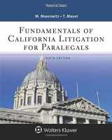 9781454873488-1454873485-Fundamentals of California Litigation for Paralegals (Aspen Paralegal)