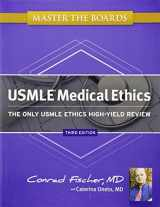 9781607149040-1607149044-Master the Boards USMLE Medical Ethics: The Only USMLE Ethics High-Yield Review