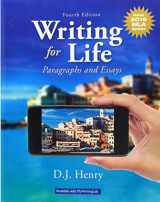 9780134678832-0134678834-Writing for Life: Paragraphs and Essays, MLA Update (4th Edition)