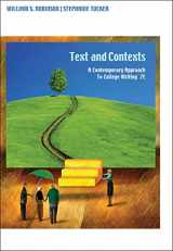 9781413033458-1413033458-Texts and Contexts: A Contemporary Approach to College Writing, 7th Edition