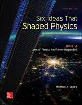 9780077600952-0077600959-Six Ideas That Shaped Physics: Unit R - Laws of Physics are Frame-Independent (WCB Physics)