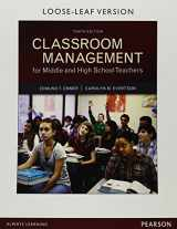 9780134028859-0134028856-Classroom Management for Middle and High School Teachers, Loose-Leaf Version (10th Edition)