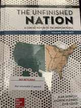 9781260164800-1260164802-The Unfinished Nation: A Concise History of the American People Volume 1