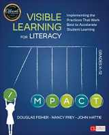 9781506332352-1506332358-Visible Learning for Literacy, Grades K-12: Implementing the Practices That Work Best to Accelerate Student Learning (Corwin Literacy)