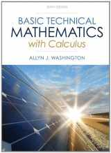 9780321924049-0321924045-Basic Technical Mathematics with Calculus Plus NEW MyMathLab with Pearson eText -- Access Card Package (10th Edition) (Washington Technical Mathematics)