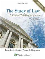 9781454852223-1454852224-The Study of Law: A Critical Thinking Approach (Aspen College)