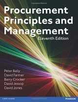 9781292016016-1292016019-Procurement, Principles & Management (11th Edition)