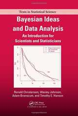 9781439803547-1439803544-Bayesian Ideas and Data Analysis: An Introduction for Scientists and Statisticians (Chapman & Hall/CRC Texts in Statistical Science)