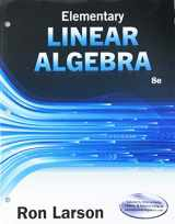 9781337604925-1337604925-Elementary Linear Algebra + Webassign 1 Term Access Card for Larson's Elementary Linear Algebra, 8th Ed