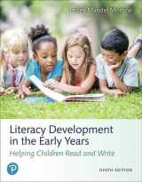 9780134898230-0134898230-Literacy Development in the Early Years: Helping Children Read and Write (9th Edition)