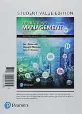 9780134855424-0134855426-Operations Management: Processes and Supply Chains, Student Value Edition Plus MyLab Operations Management with Pearson eText -- Access Card Package