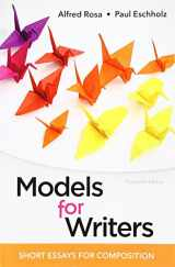 9781319056650-1319056652-Models for Writers: Short Essays for Composition