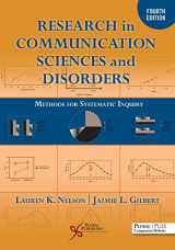 9781635502053-1635502055-Research in Communication Sciences and Disorders: Methods for Systematic Inquiry