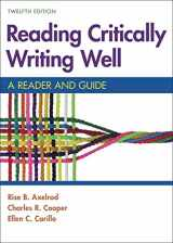 9781319194475-1319194478-Reading Critically, Writing Well: A Reader and Guide