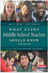 9780325057552-0325057559-What Every Middle School Teacher Should Know, Third Edition