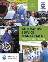 9780134709857-0134709853-Automotive Service Management (Pearson Automotive Series)
