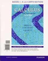 9780321977298-0321977297-Calculus: Early Transcendentals, Books a la Carte Plus MyLab Math/MyLab Statistics Student Access Kit (2nd Edition)