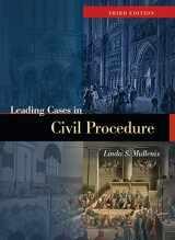 9781634606820-1634606825-Leading Cases in Civil Procedure (American Casebook Series)