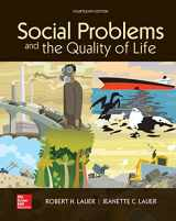 9781260167566-1260167569-Looseleaf for Social Problems and the Quality of Life