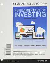 9780134426808-0134426800-Fundamentals of Investing, Student Value Edition Plus MyLab Finance with Pearson eText -- Access Card Package (13th Edition)