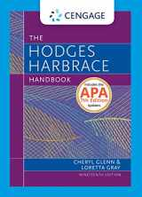 9781337279512-133727951X-Hodges Harbrace Handbook, 2016 MLA Update