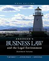 9781305575110-1305575113-Anderson's Business Law and the Legal Environment, Standard Volume