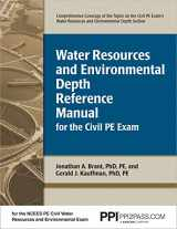 9781591260950-1591260957-PPI Water Resources and Environmental Depth Reference Manual for the Civil PE Exam (Paperback) – A complete Reference Manual for the NCEES PE Civil Exam