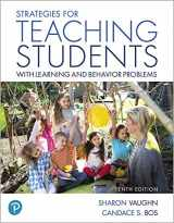 9780134773698-0134773691-Strategies for Teaching Students with Learning and Behavior Problems plus MyLab Education with Pearson eText -- Access Card Package (Myeducationlab)