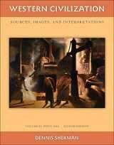 9780077382407-0077382404-Western Civilization: Sources Images and Interpretations Volume 2 Since 1660