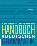 9781305078840-1305078845-Handbuch zur deutschen Grammatik (World Languages)