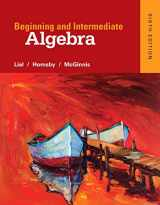 9780321969163-0321969162-Beginning and Intermediate Algebra (6th Edition)