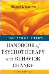 9781118038208-1118038207-Bergin and Garfield's Handbook of Psychotherapy and Behavior Change